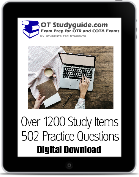 NBCOT Study guide for COTA and OTR